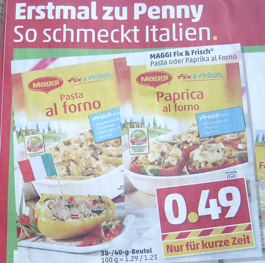 Paprica ist nicht Paprika